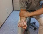 チューブトレーニングで手首強化!!